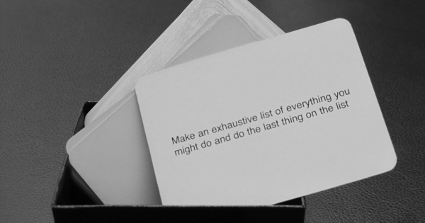 brian eno oblique strategies download