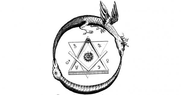 Ouroboros Symbol Of Eternal Return Aleph
