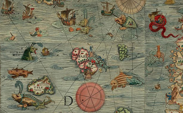 Hic sunt dracones: sea monsters in ancient cartography - Aleph