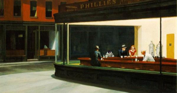 Sobre la relación entre la pintura de Edward Hopper y el cine - Aleph