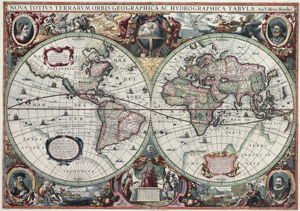 Beautiful Map Of The World.7 Of The Most Beautiful Maps In History Aleph