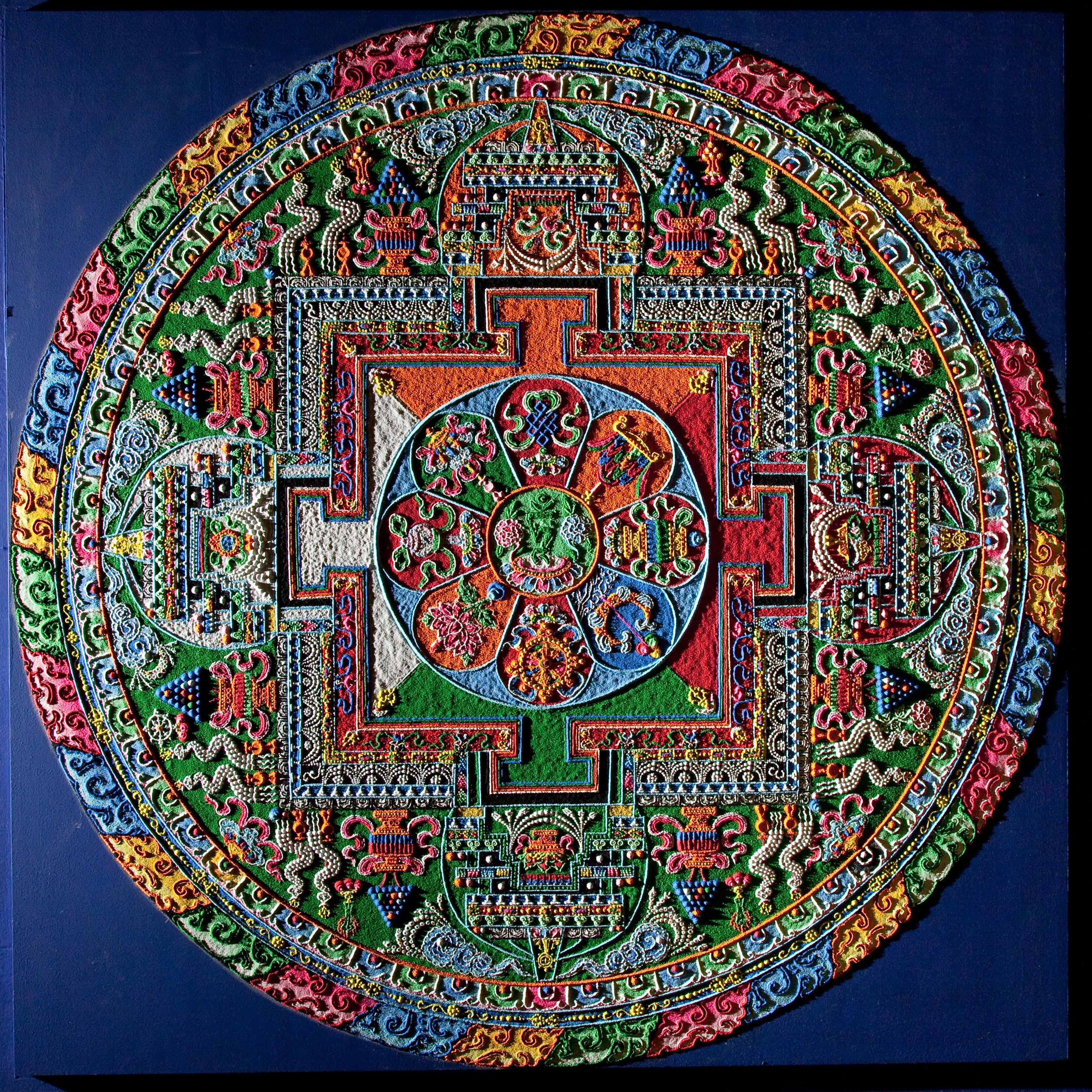 Art As A Healing Tool Mandalas As Medicinal Wheels Aleph