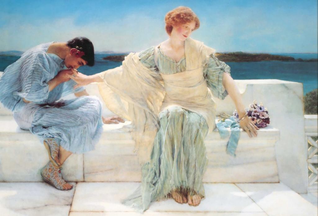 LawrenceAlmaTadema-Ask-Me-No-More-1906