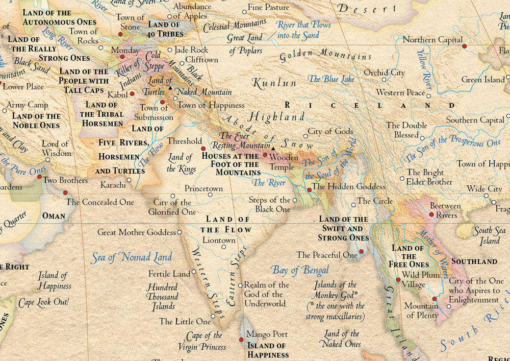 The atlas of true names the etymologic secrets of our for Portent meaning in english