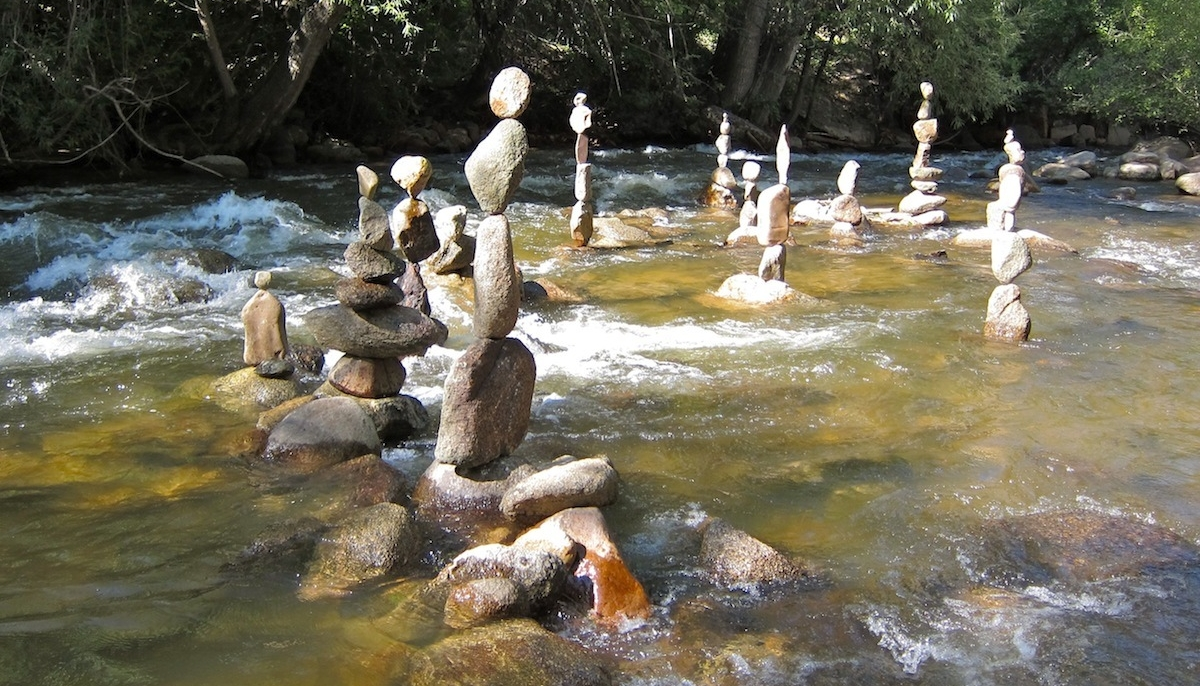 The Zen Art Of Balancing Rocks