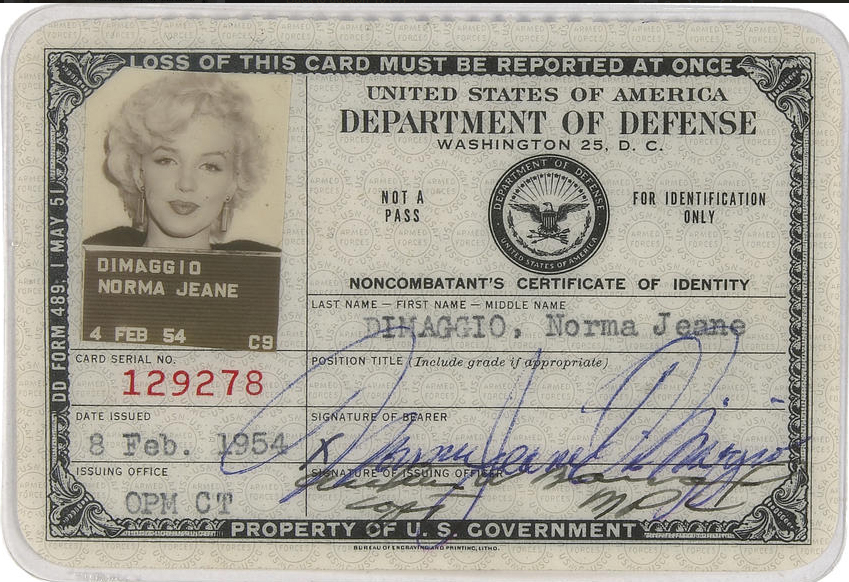 A-Marilyn-Monroes-ID-Card-1954-1