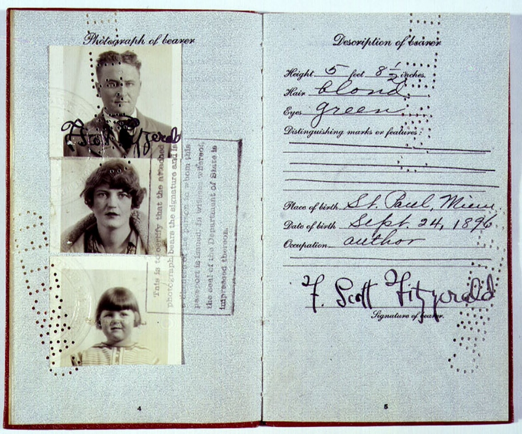 Fitzgeralds-Passport