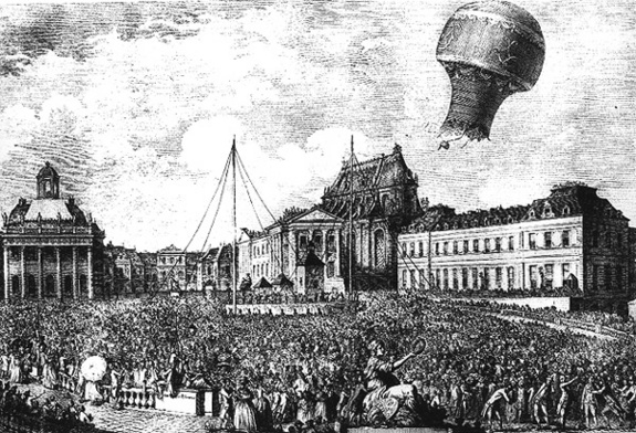 first-balloon-flight-with-passengers