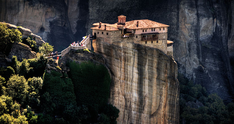 Monasteries suspended in the sky of Meteora - Aleph