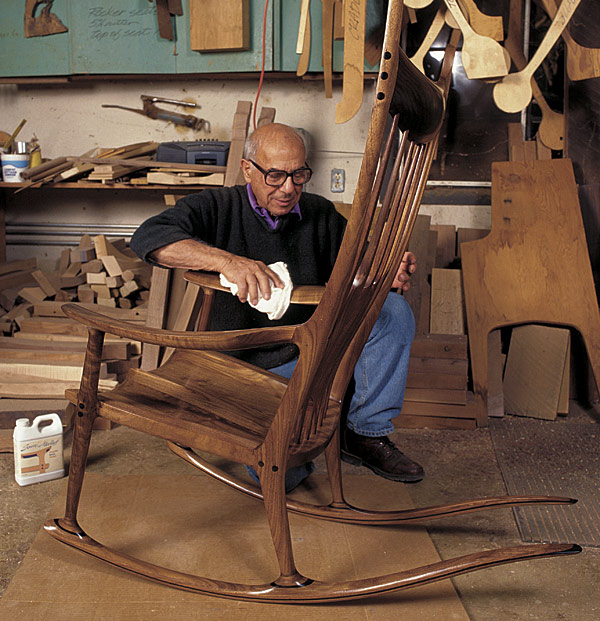 The rocking chair of Sam Maloof –– Furniture with spirit - Aleph
