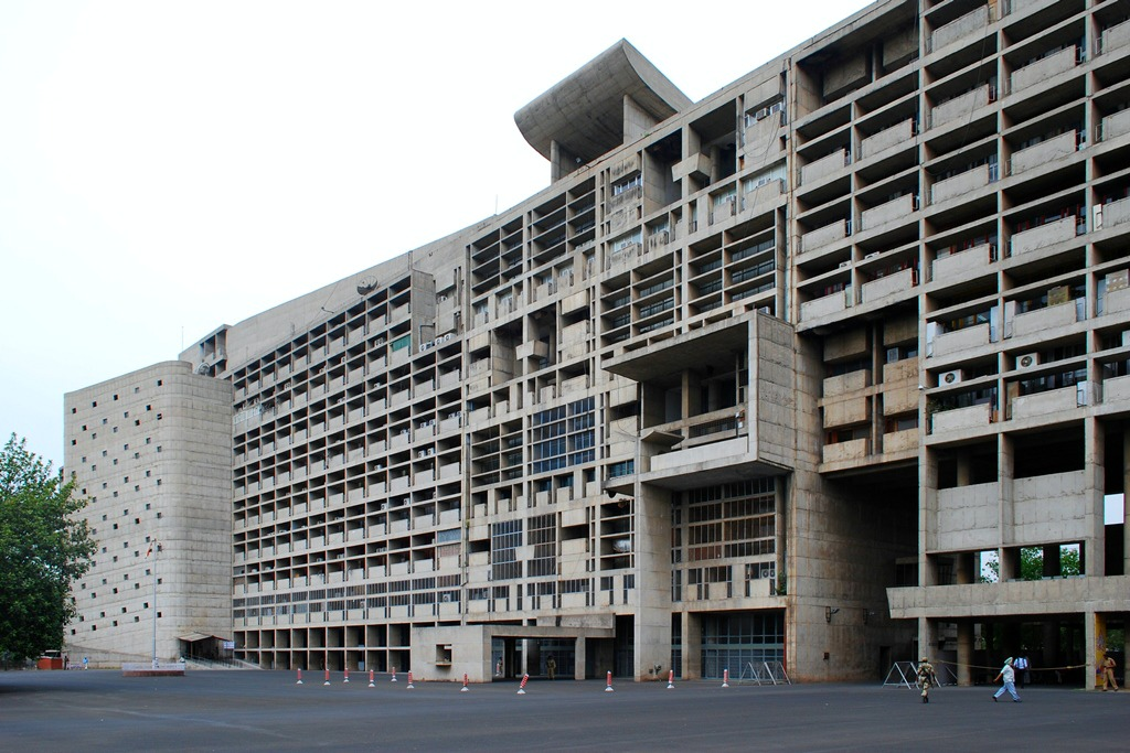 Chandigarh A City In India Designed By Le Corbusier Aleph