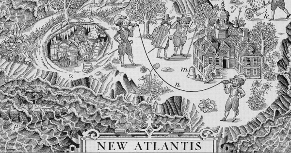 The New Atlantis, a Place Were Science and Nature merged for the ...