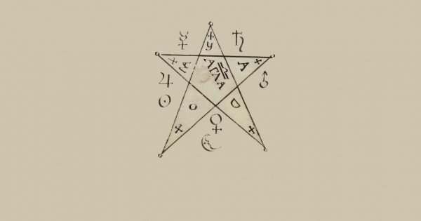 A manual on occult witchcraft found in the Public Domain - Aleph